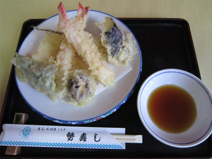 天ぷら・・・900円+税