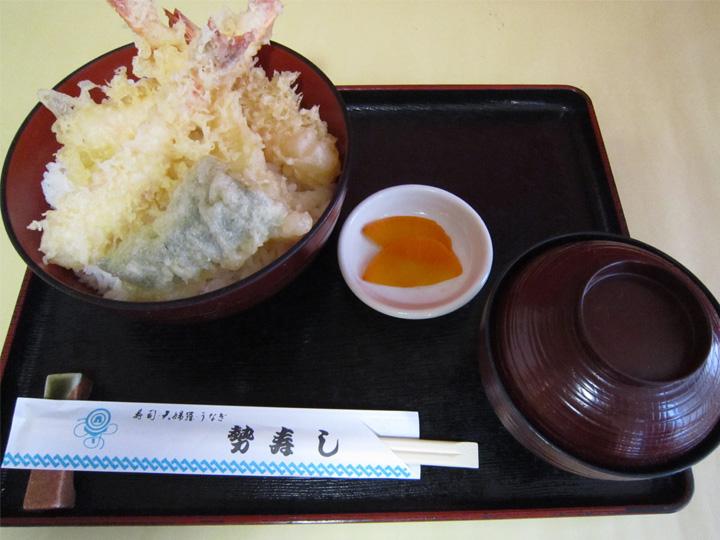 えび天丼・・・1,000円+税