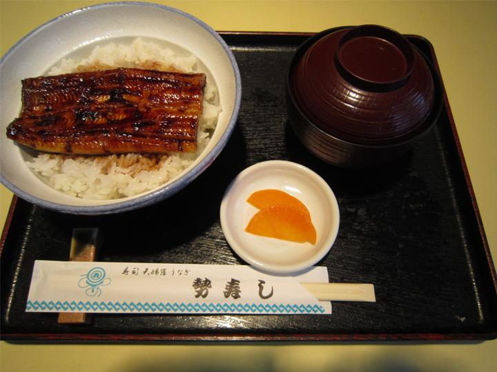 うな丼・・・1,900円+税